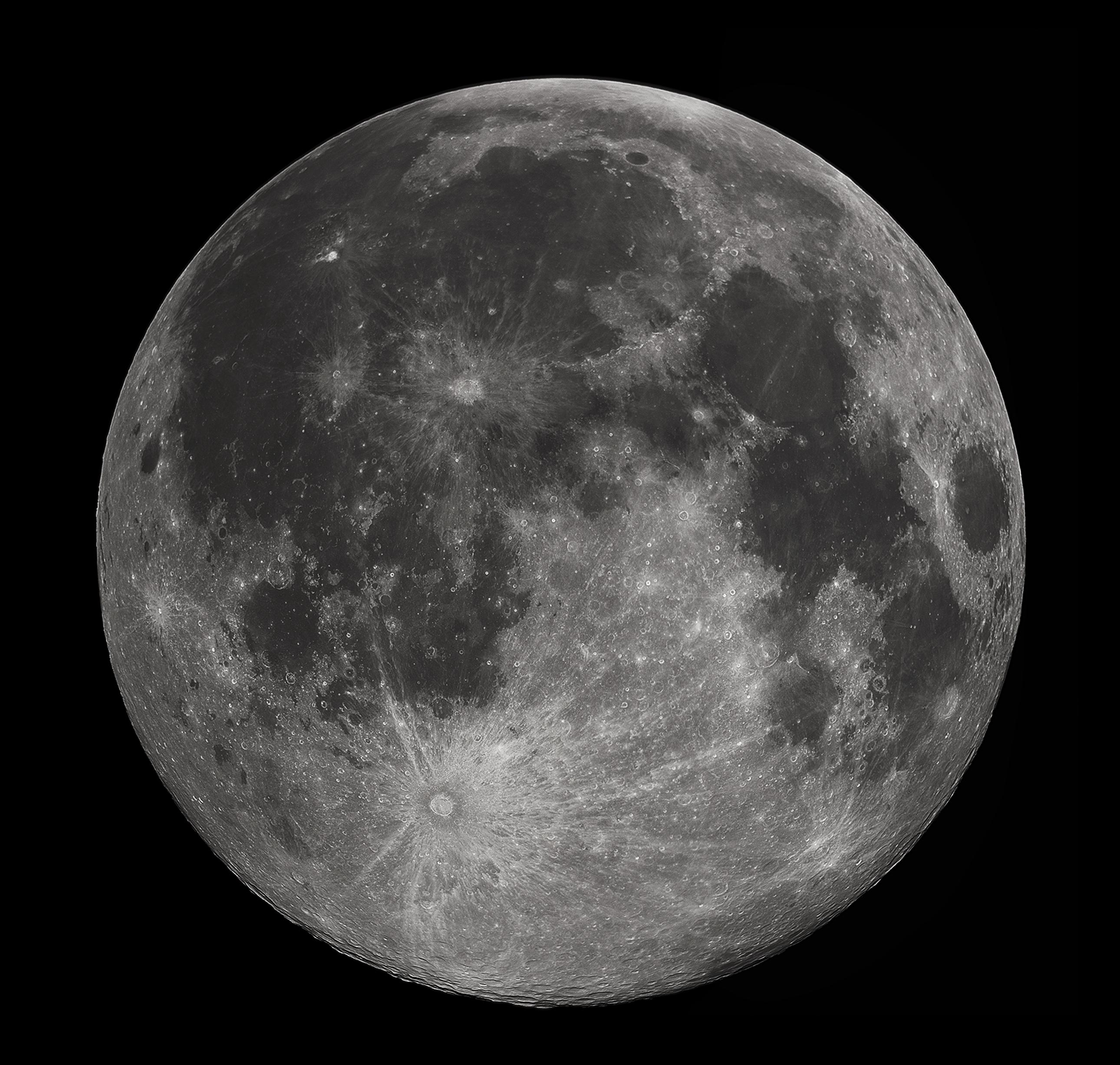 FullMoon2010_Moon